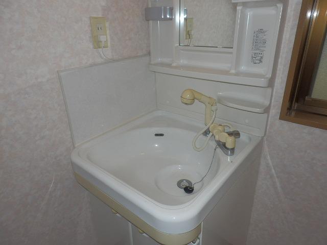 クオリティテラス・オリモA棟の洗面所