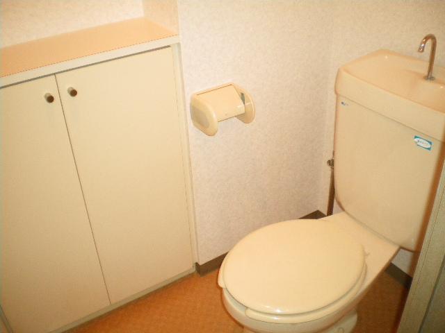 メルグリーン中川 102号室のトイレ