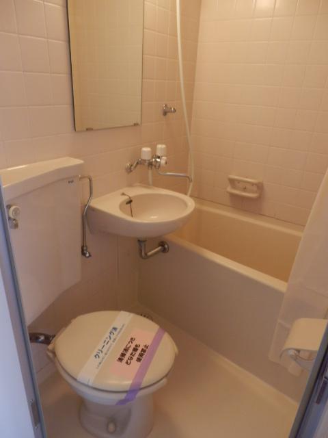 ピア6 608号室のトイレ