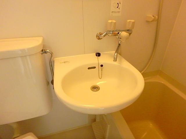 ドールハウス B101号室の洗面所