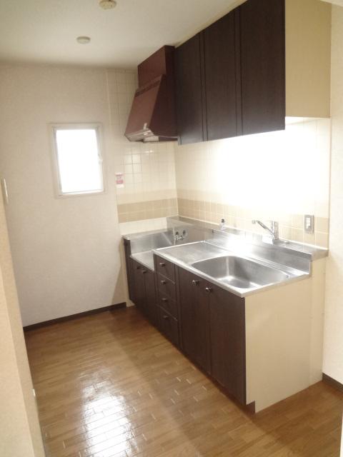 ガーデンタウン本中山 301号室のキッチン