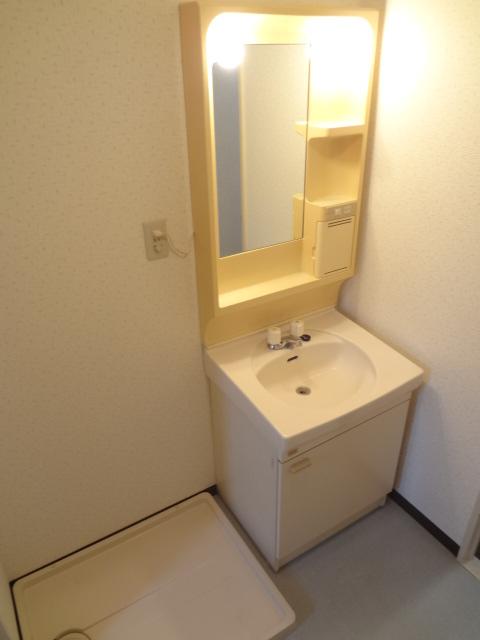 ガーデンタウン本中山 301号室の洗面所