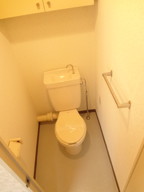 ガーデンタウン本中山 301号室のトイレ