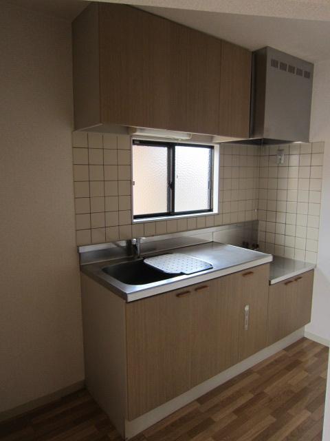 メゾンプレミールA 202号室のキッチン