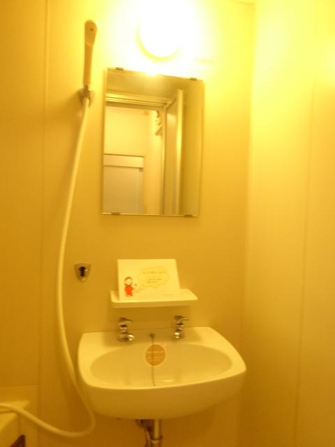 レジデンスヒルトップII 105号室の洗面所