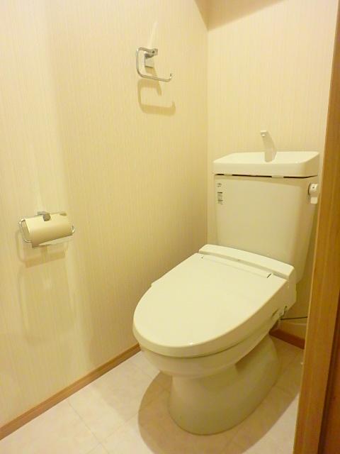 Parador Nishifunabashi 101号室のトイレ