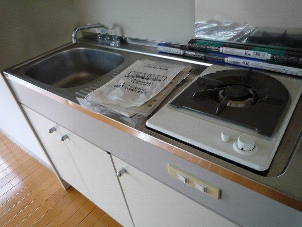 ロワール実籾 206号室のキッチン