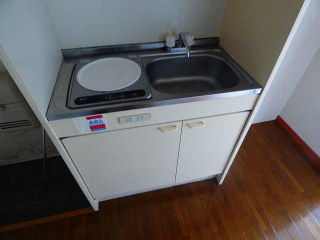 ローズパル 202号室のキッチン