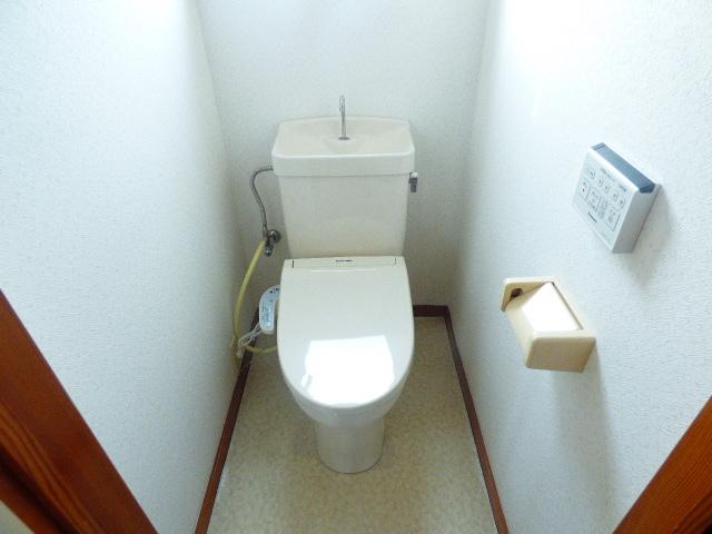 ローズパル 202号室のトイレ