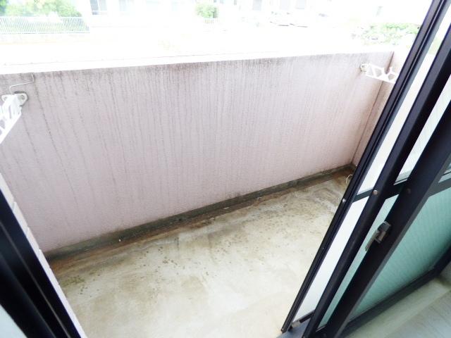 シティクレスト津田沼 209号室のバルコニー