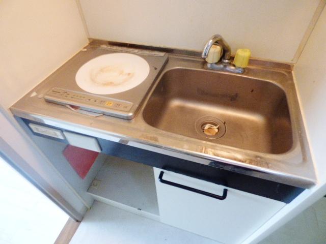 シティクレスト津田沼 209号室のキッチン