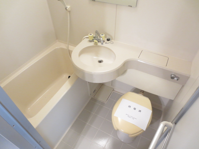シティクレスト津田沼 211号室の風呂
