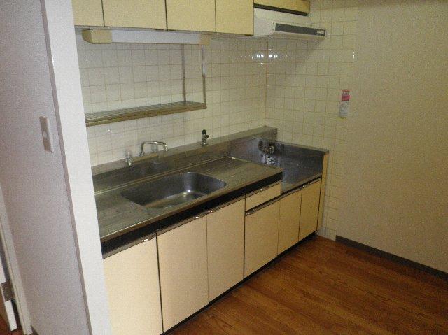 タカソープラザ 205号室のキッチン