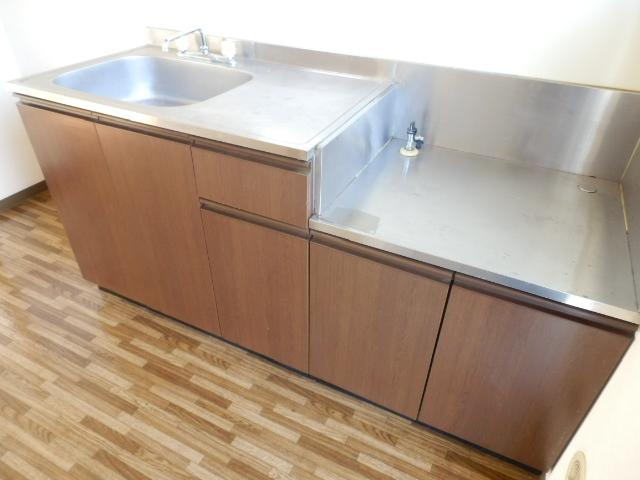 ヒルズミヤマ 202号室のキッチン
