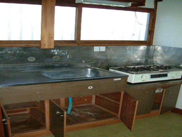 大久保マンション 106号室のキッチン