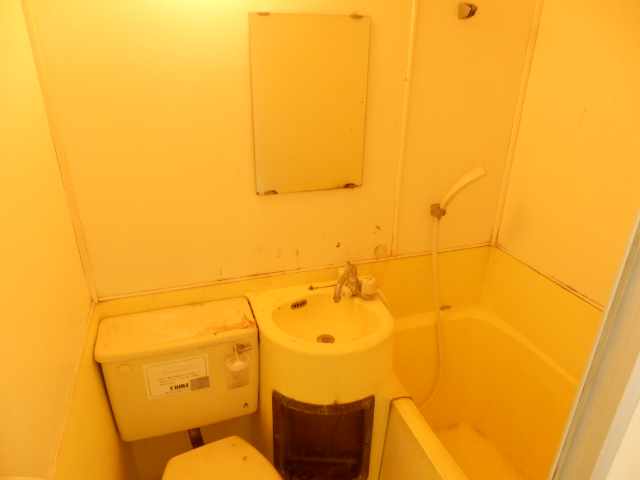 ジュネパレス田久保 201号室の洗面所