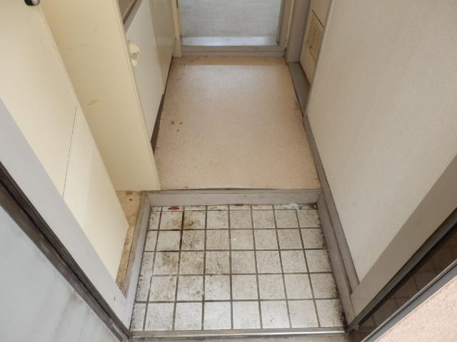 ジュネパレス田久保 201号室のキッチン