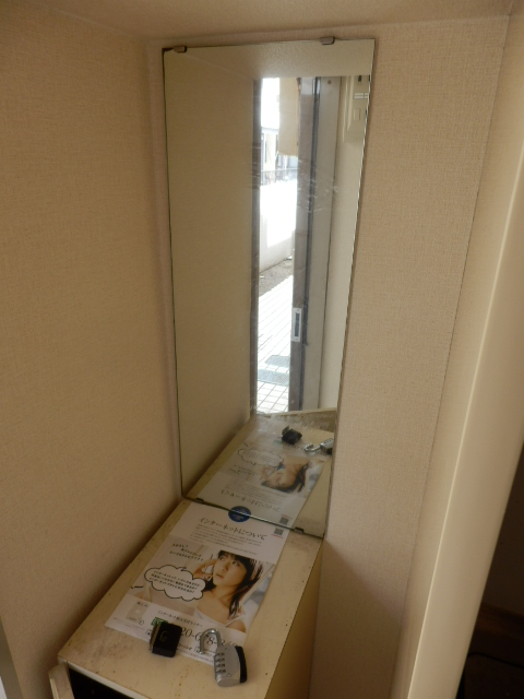 ジュネパレス田久保 201号室の玄関