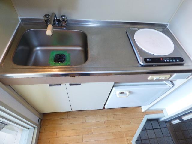 ジュネパレス津田沼第20 104号室のキッチン