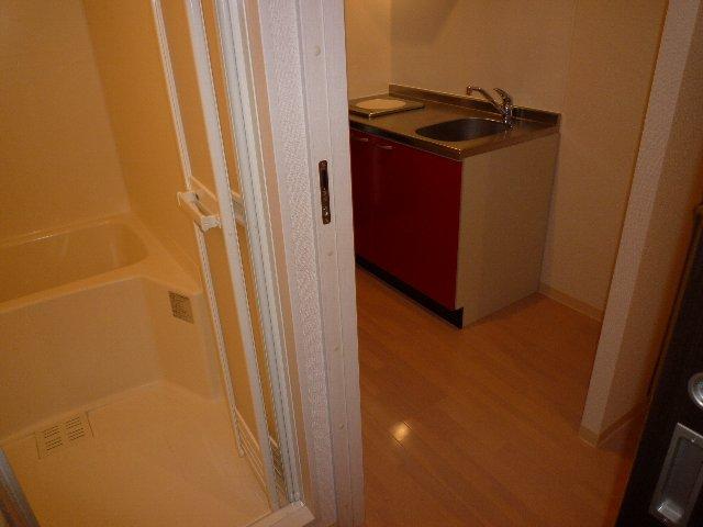 ミリアビタNO.11 207号室の洗面所