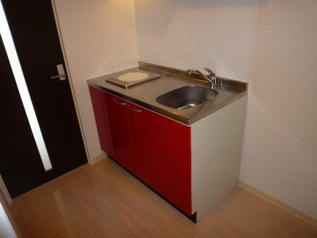 ミリアビタNO.11 207号室のキッチン