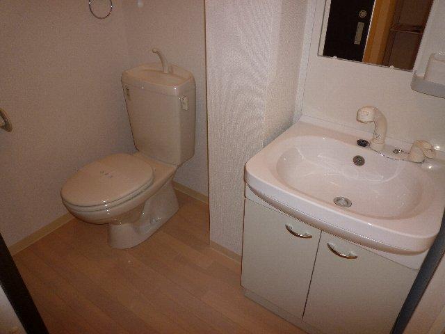 ミリアビタNO.11 207号室のトイレ