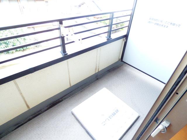 スマートガーデン津田沼 302号室のバルコニー