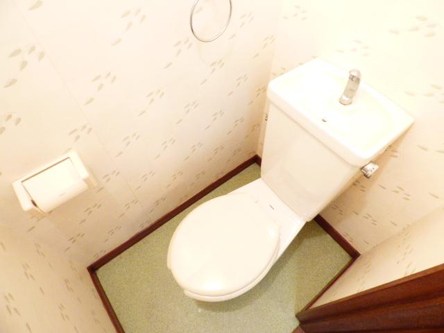 コーポ芝田 302号室のトイレ