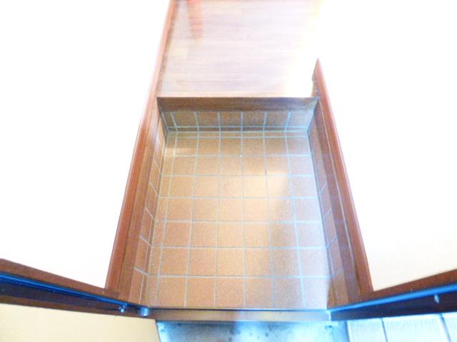 コーポ芝田 302号室の玄関