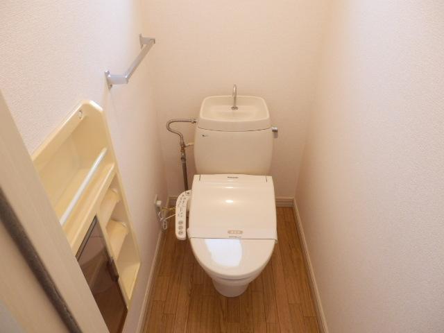 グレース田喜野井 Ⅱ番館 101号室のトイレ