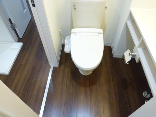 サンライズ津田沼Ⅲ 201号室のトイレ
