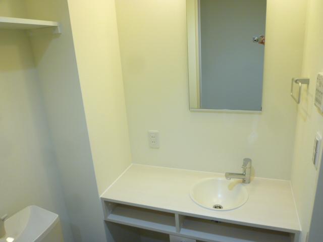 サンライズ津田沼Ⅲ 201号室の洗面所