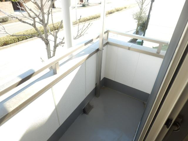 ブリリアント大木 305号室のバルコニー