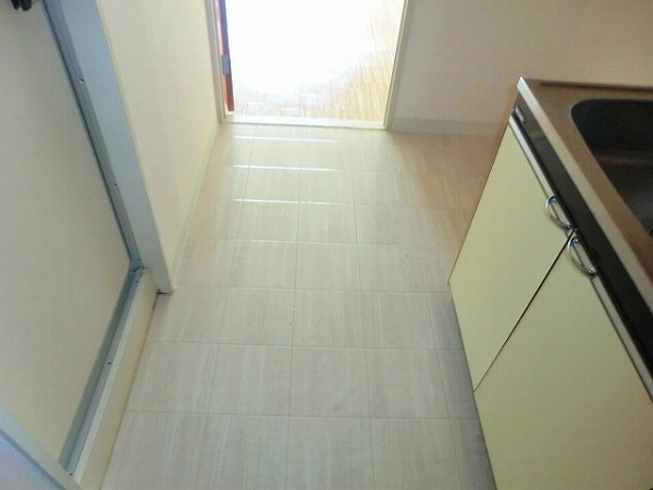 ルビーハイツ大森 4B号室の玄関