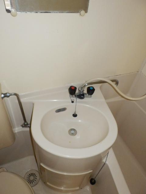 パールハイツ 102号室の洗面所