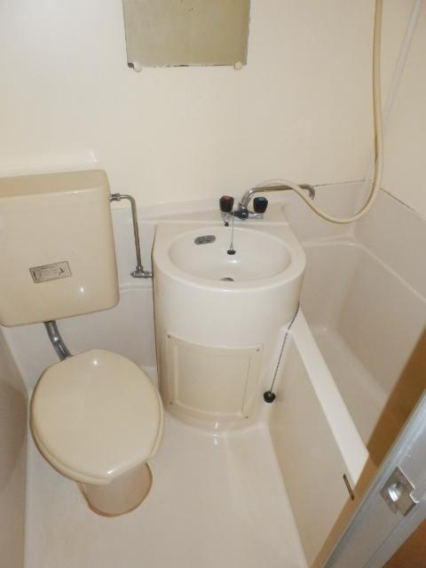 パールハイツ 102号室の風呂