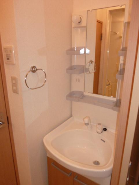 コスモス真光寺 205号室の洗面所
