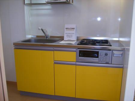 コスモス真光寺 205号室のキッチン