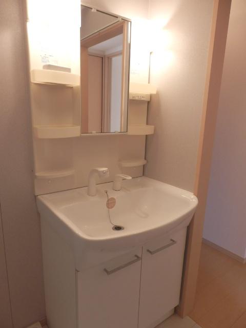 アフロディテ 105号室の洗面所