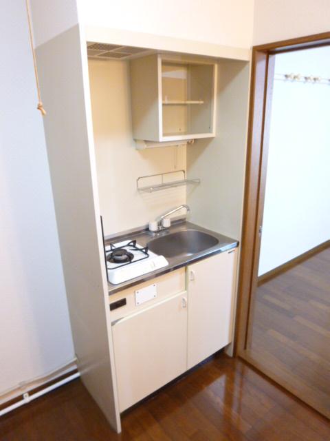 未貴ハイムABC棟 A102号室のキッチン