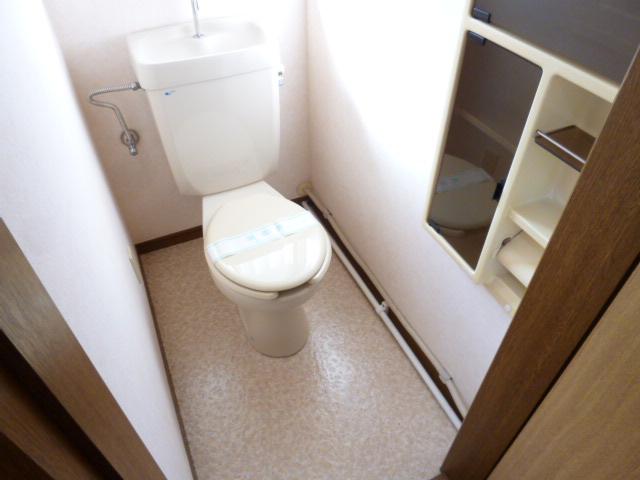 未貴ハイムABC棟 A102号室のトイレ