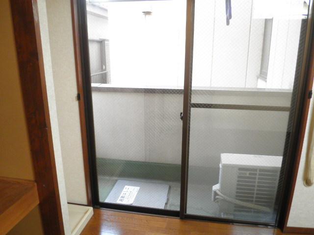 ヴィラアルテミス 306号室のバルコニー