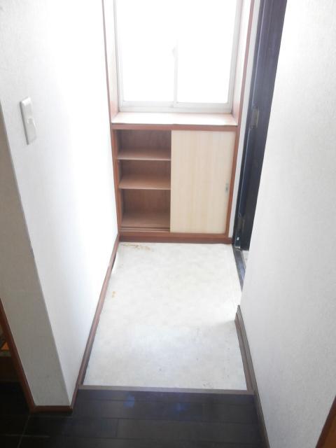 品田ハイツ 201号室の玄関