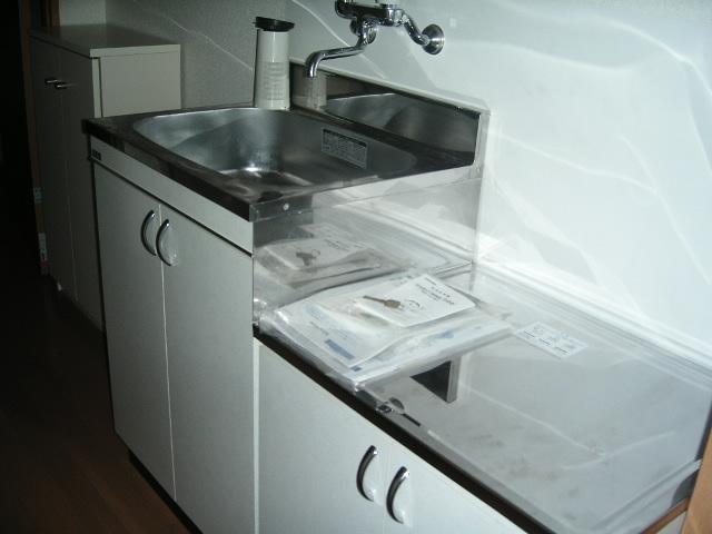グランパルクⅣ 4105号室のキッチン