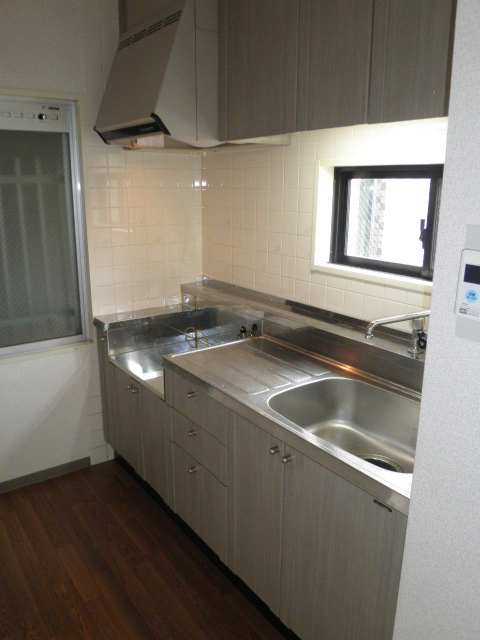 グリーンハイツ9 103号室のキッチン