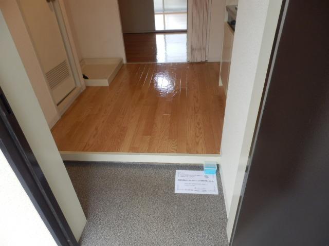 与野第三宝コーポ 308号室の玄関
