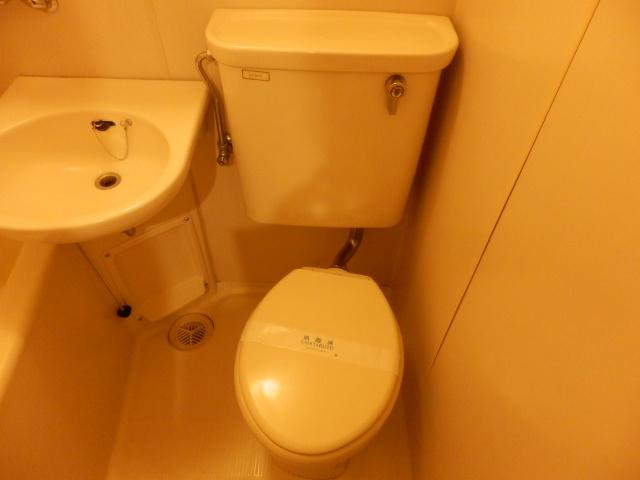 与野第三宝コーポ 308号室のトイレ