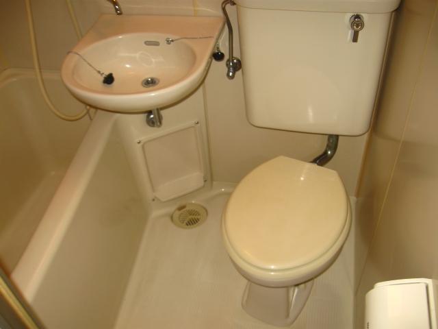 与野第三宝コーポ 308号室の風呂
