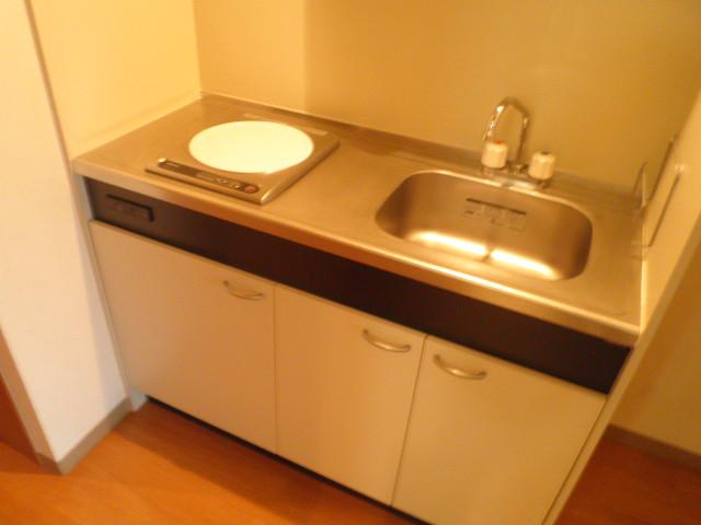 ル・モンヴェール 205号室のキッチン