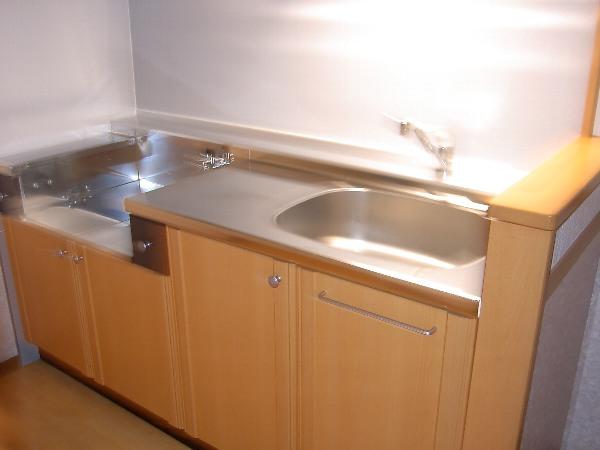 コンフォート飯能A 00202号室のキッチン